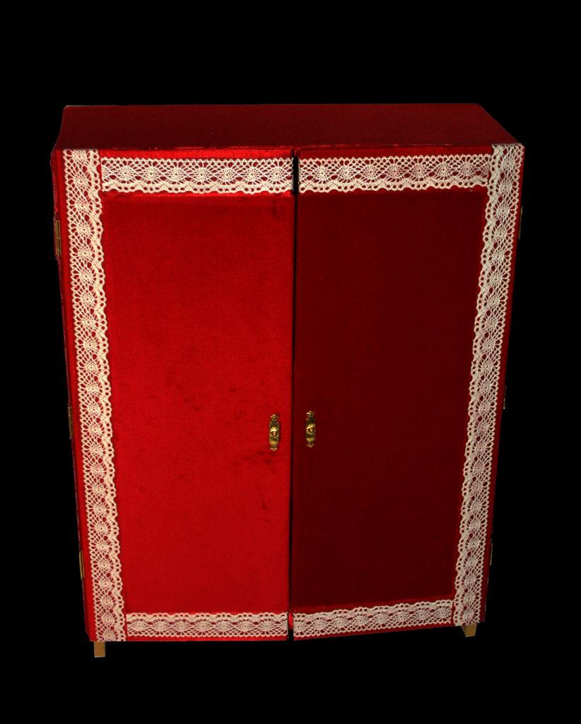 Peça per a l'exposició Salir del armario de Maria Hernández