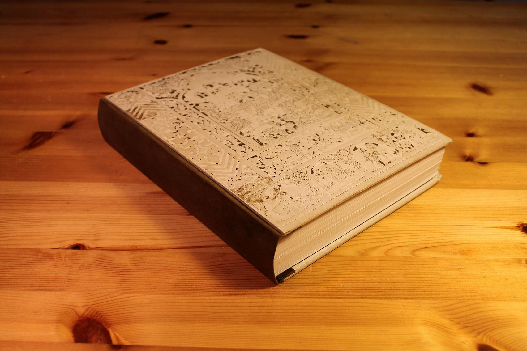 Restauració de llibre antic