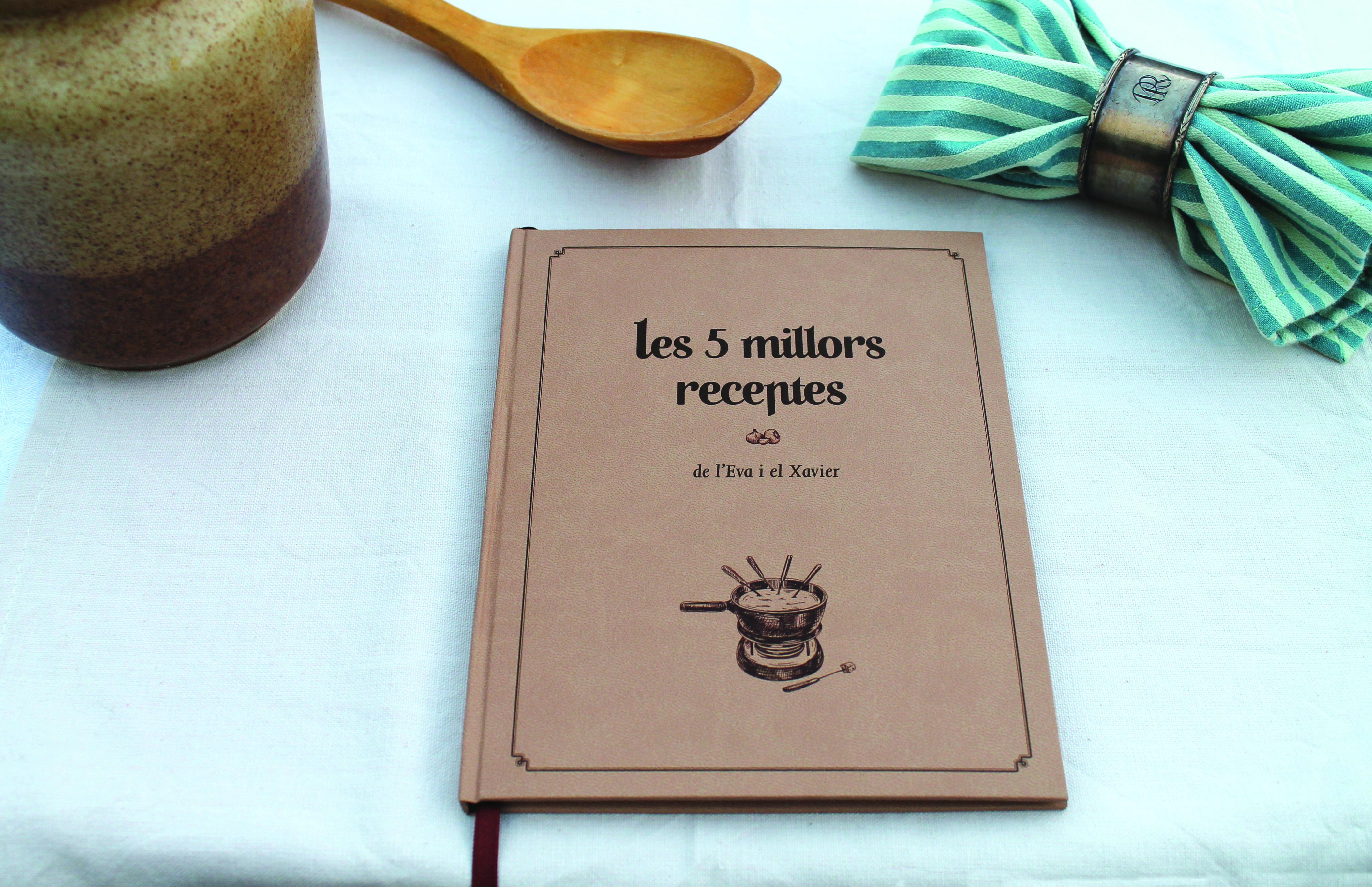 Llibre de receptes personalitzat: Les 5 millors receptes